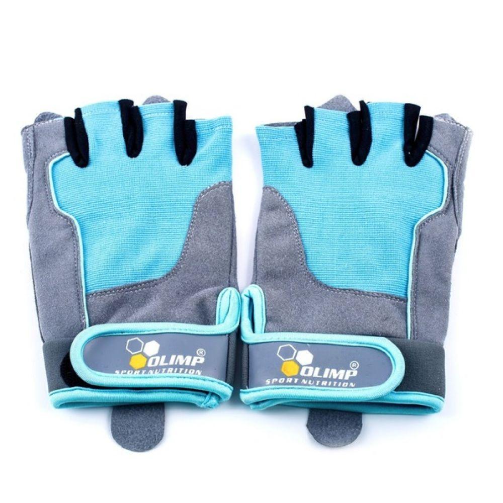 Перчатки Fitness One/Blue, Olimp