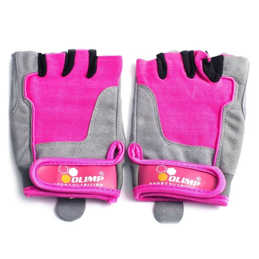 Перчатки Fitness One/Pink, Olimp