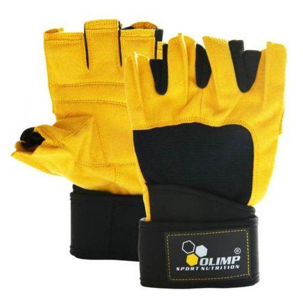 Перчатки Training Gloves Hardcore Raptor Yellow, Olimp