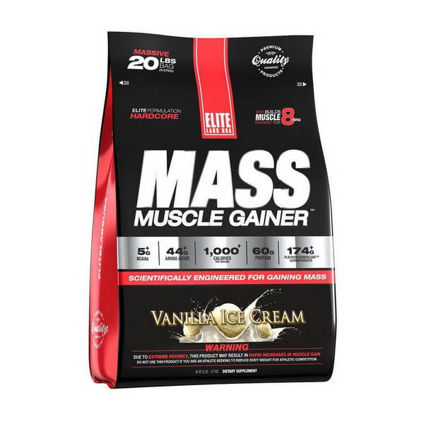 Mass Muscle Gainer 2.3kg, Elite Labs