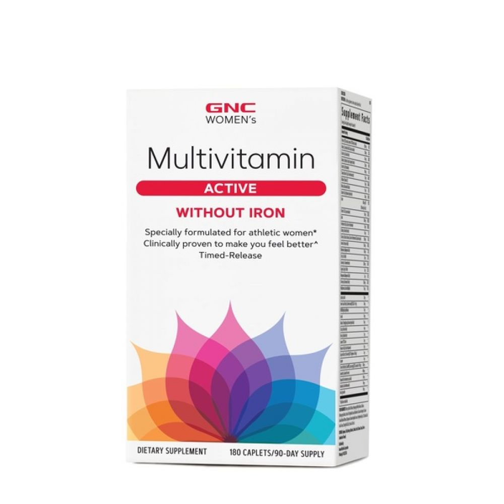 Womens Multivitamin Active 180 Tabs, GNC