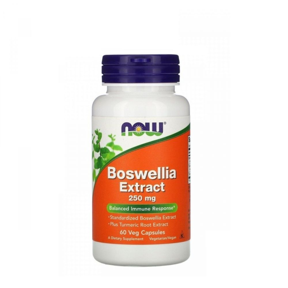 Boswellia Extract 250mg 60 Veg Caps, NOW Foods