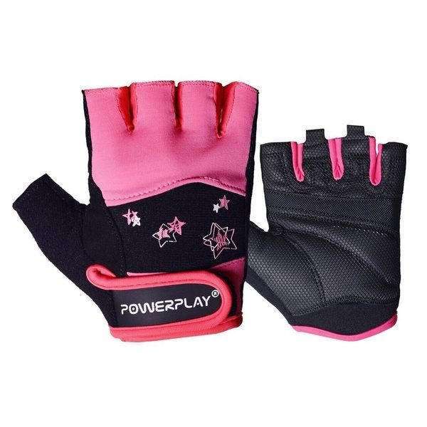 Перчатки для фитнеса 3492 Women Black/Pink, PowerPlay