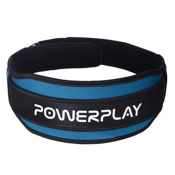 Пояс Атлетический 5545 Black/Blue, PowerPlay