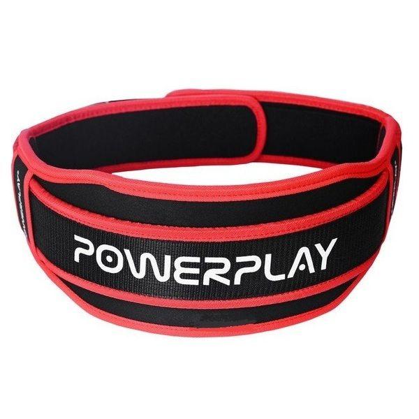 Пояс Атлетический 5545 Black/Red, PowerPlay