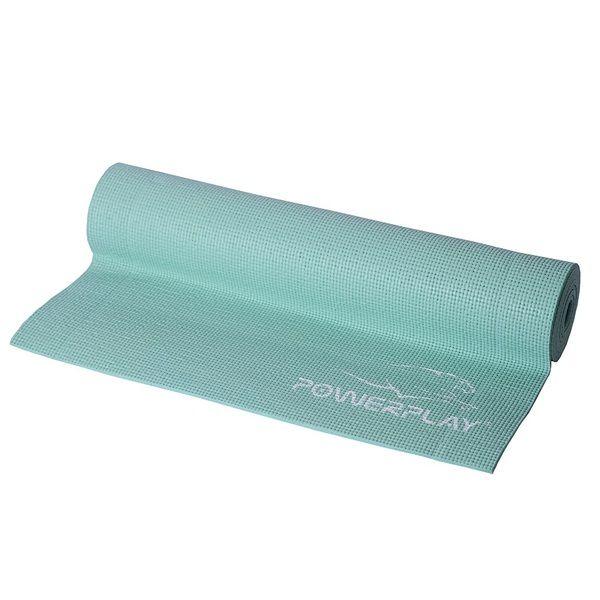 Коврик для йоги и фитнеса 4010 Mint, PowerPlay