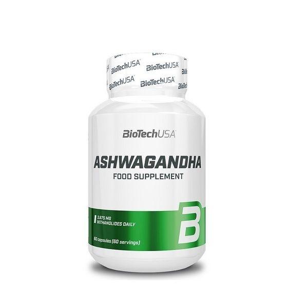 Ashwagandha 60 Caps, BioTechUSA