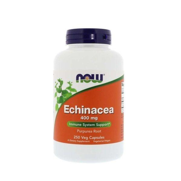 Echinacea 400mg 250 Veg Caps, NOW Foods