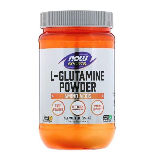 L-Glutamine Powder 454g, NOW Foods
