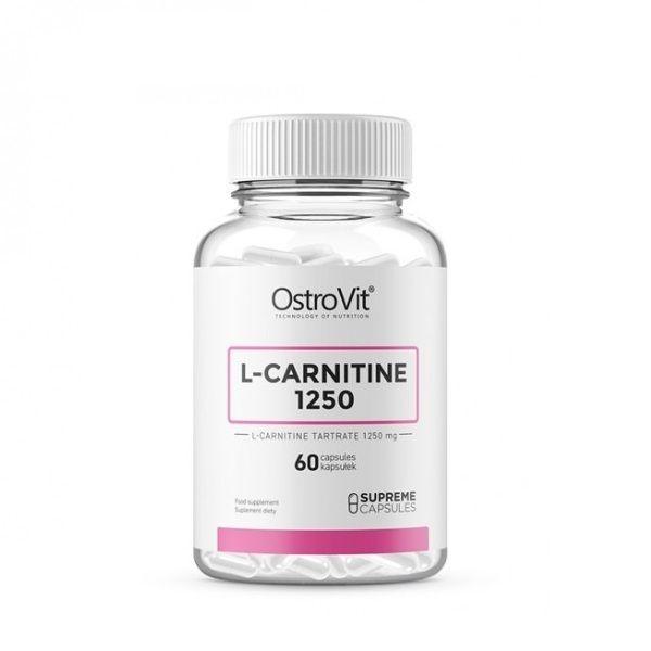 L-Carnitine 1250mg 60 Caps, OstoVit