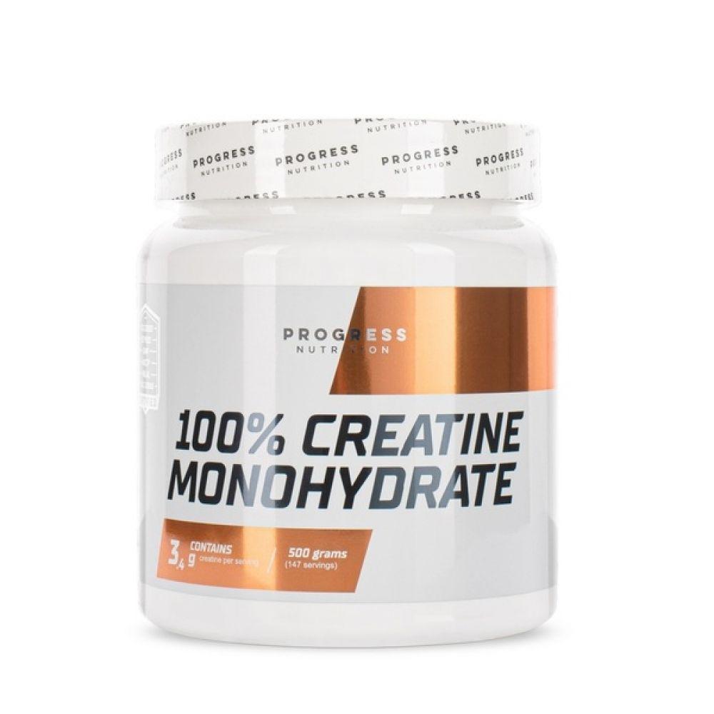 100% Creatine Monohydrate 500g, Progress Nutrition