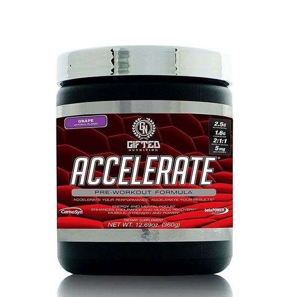 Accelerate 30 Servings, Gifted Nutrition