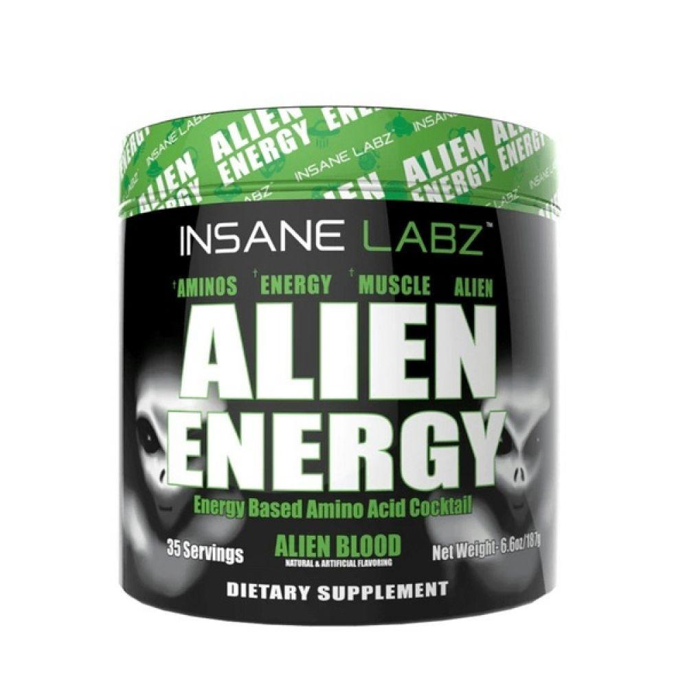 Alien Energy 1 Serving 6.5g, Insane Labz