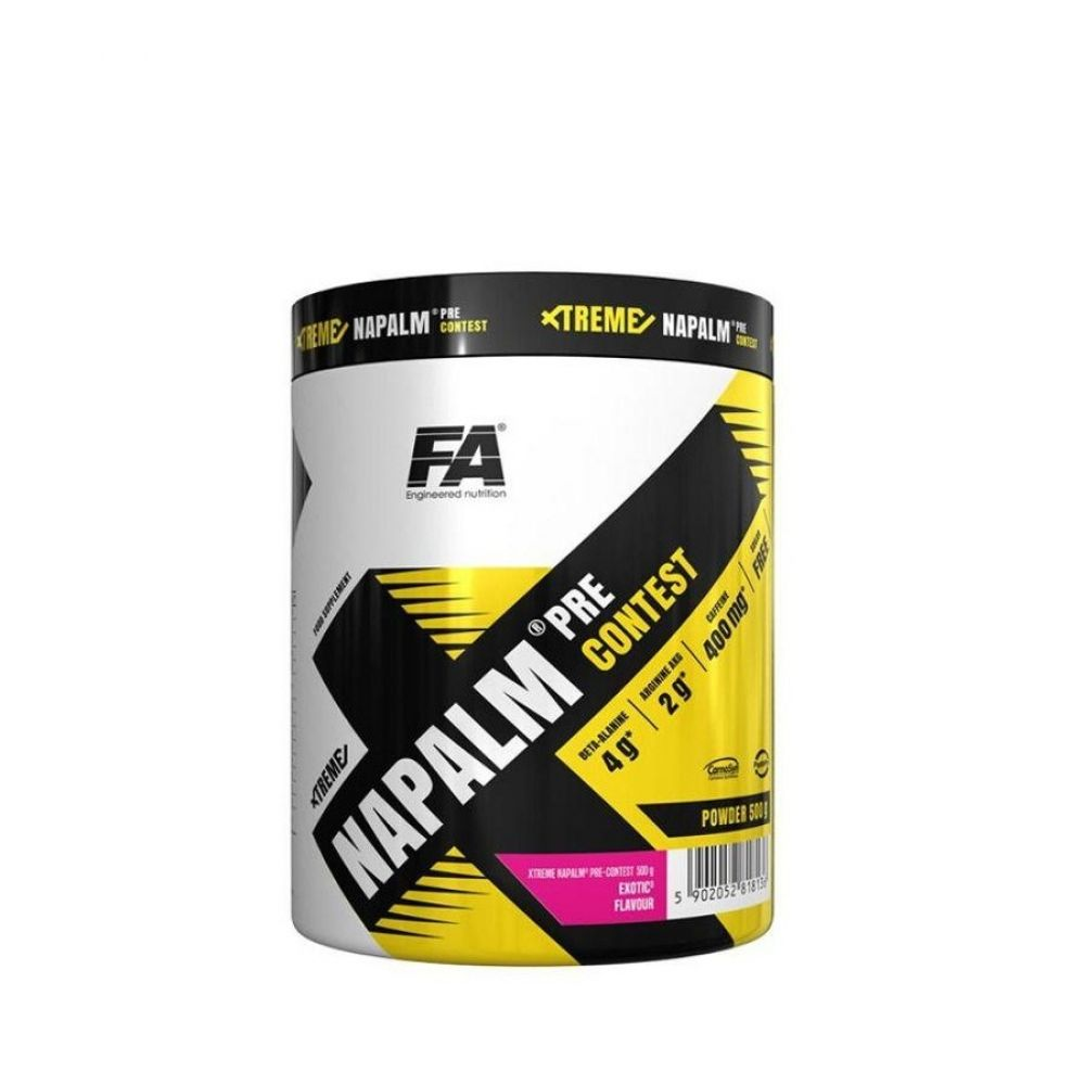 Xtreme Napalm Pre Contest 500g, Fitness Authority