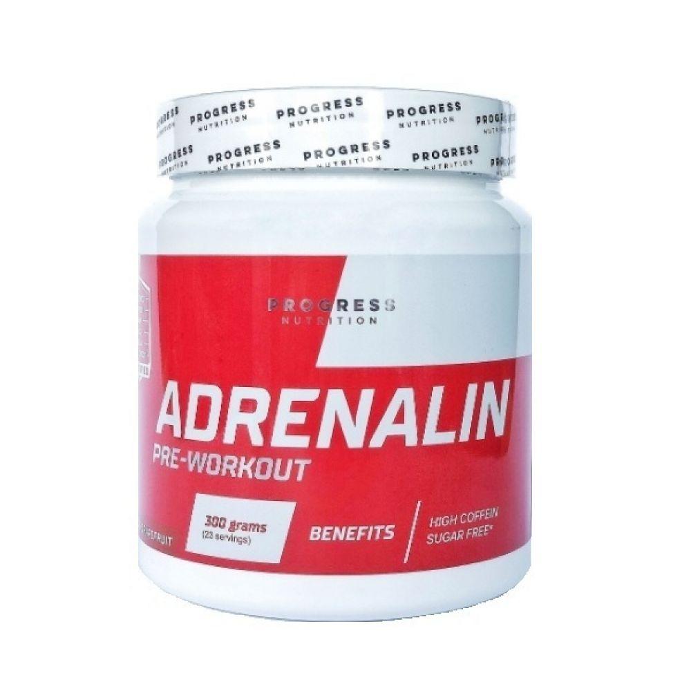 Adrenalin Pre-Workout 300g, Progress Nutrition