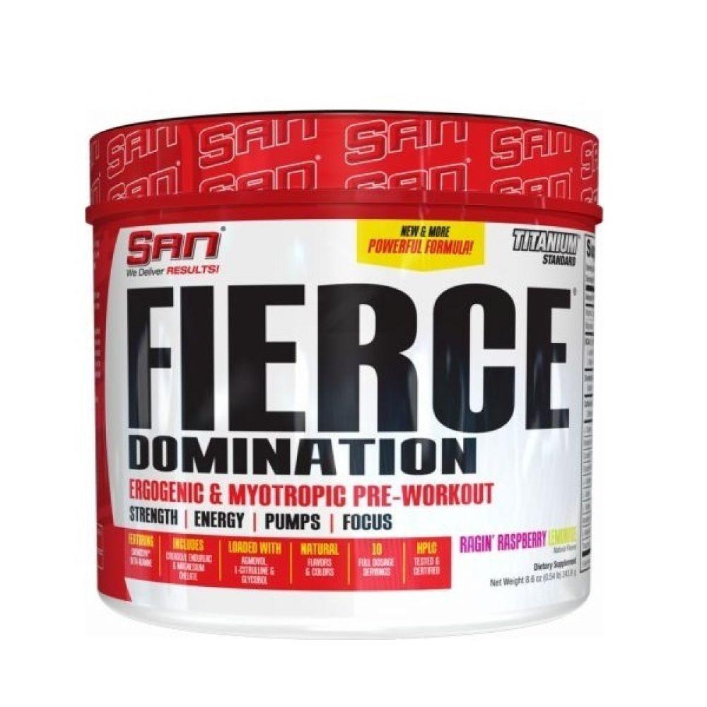 Fierce Domination 10 Servings 249g, SAN