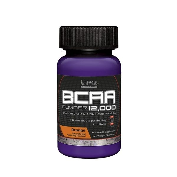 BCAA 12.000 Powder 7.6g, Ultimate Nutrition