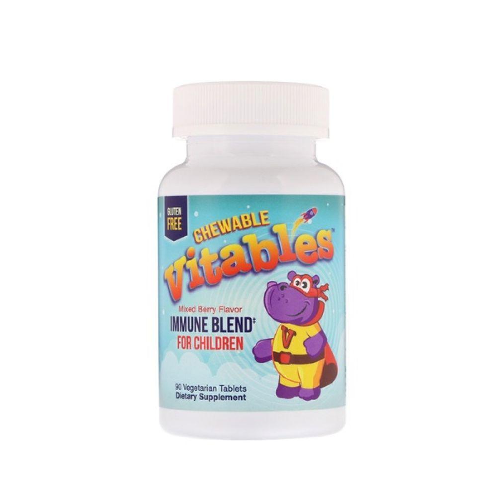 Immune Blend For Children 90 Veg Chewables, Vitables
