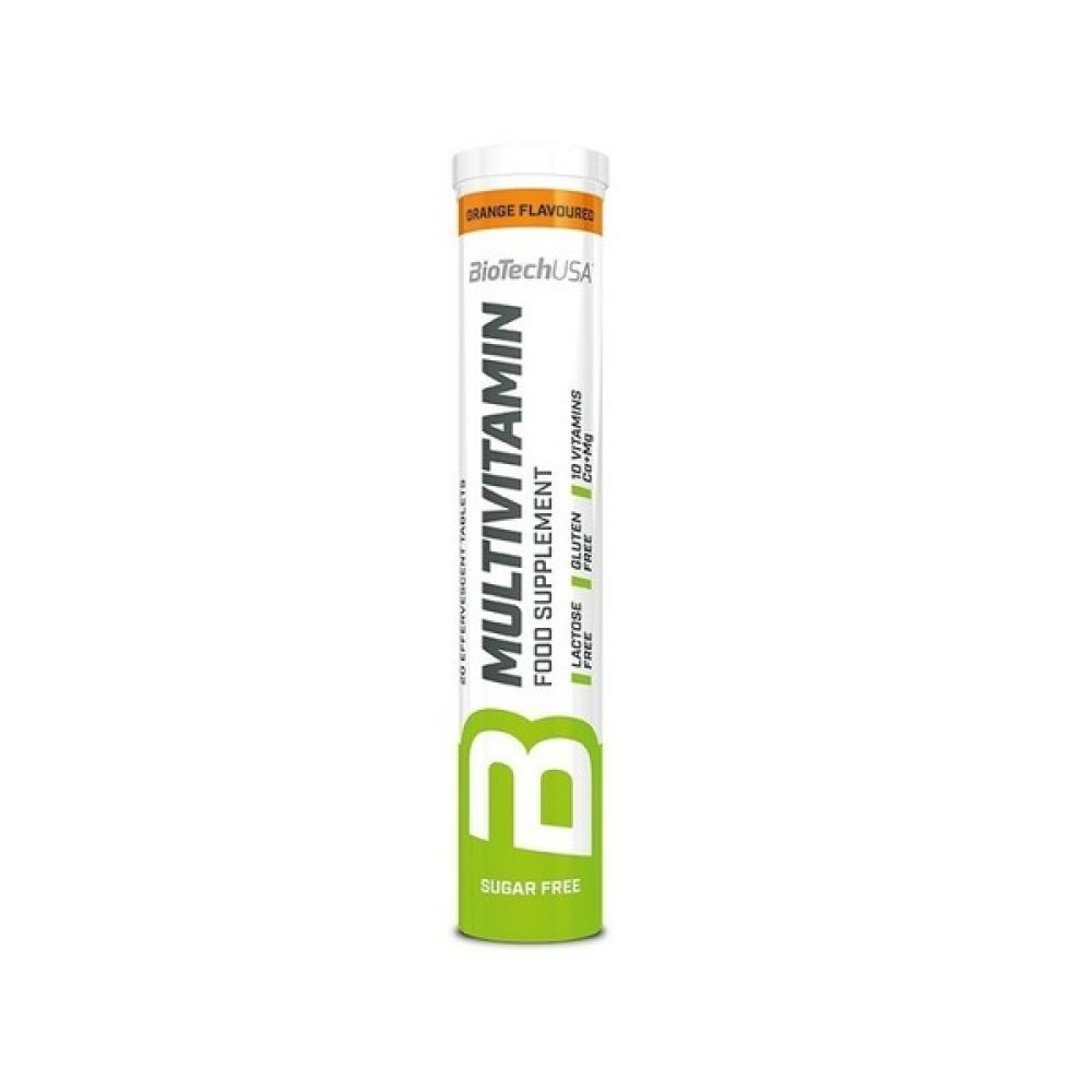 Multivitamin Effervescent 20 Tabs, BioTechUSA