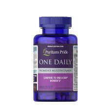 One Daily Womens Multivitamin 100 Tabs, Puritans Pride