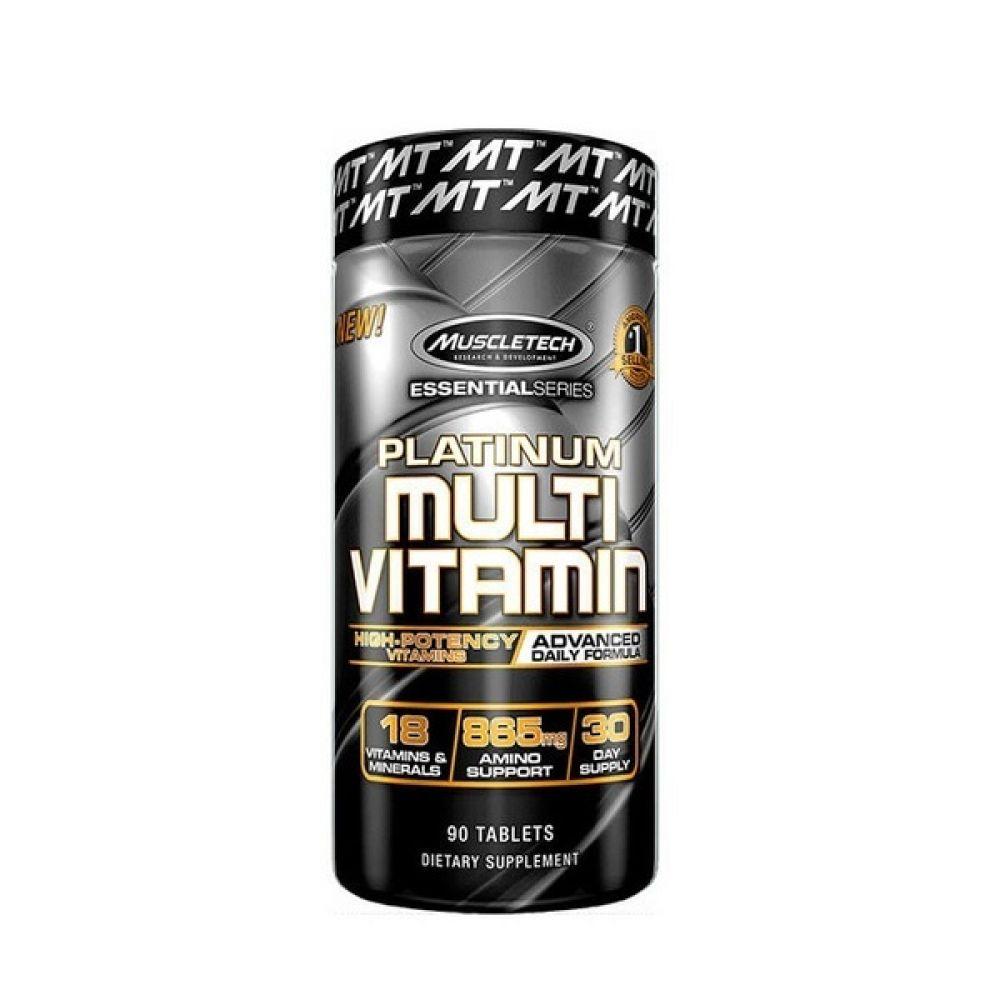 Platinum Multi Vitamin 90 Tabs, MuscleTech