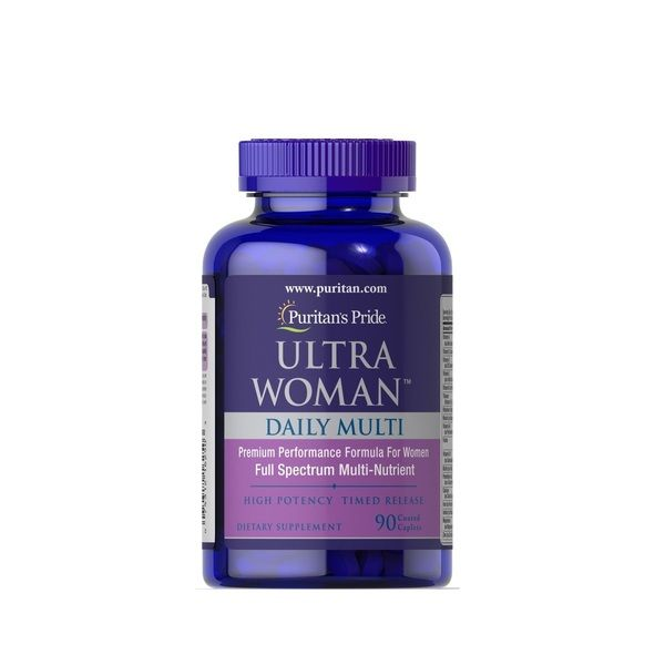 Ultra Woman Daily Multi Timed Release 90 Tabs, Puritans Pride