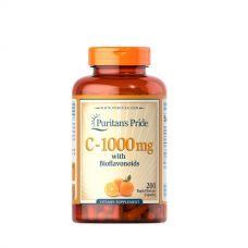 Vitamin C-1000 with Bioflavonoids 200 Caps, Puritans Pride