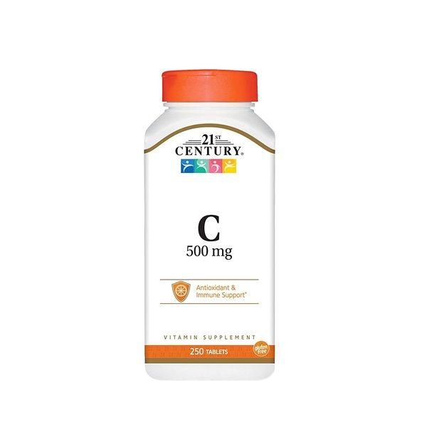 Vitamin C 500mg 250tab, 21st Century