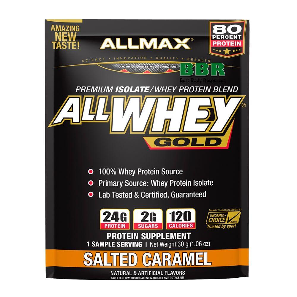 All Whey Gold 30g, ALLMAX Nutrition