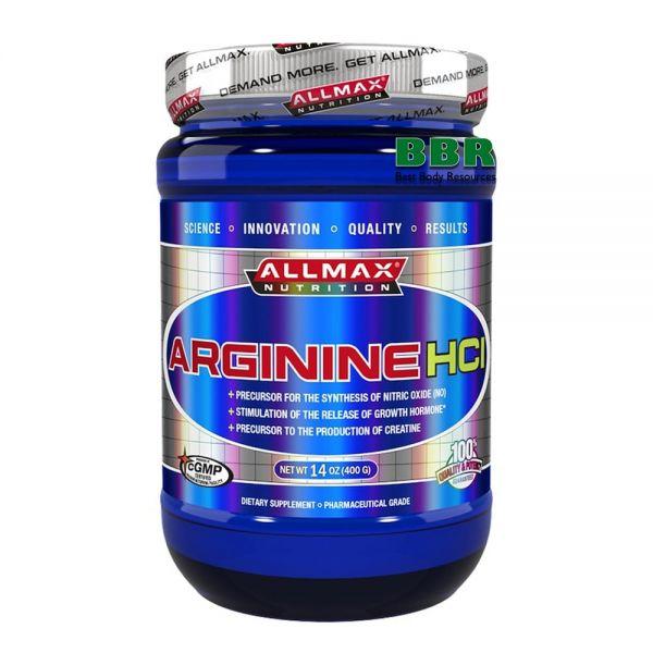 Arginine 400g, ALLMAX Nutrition