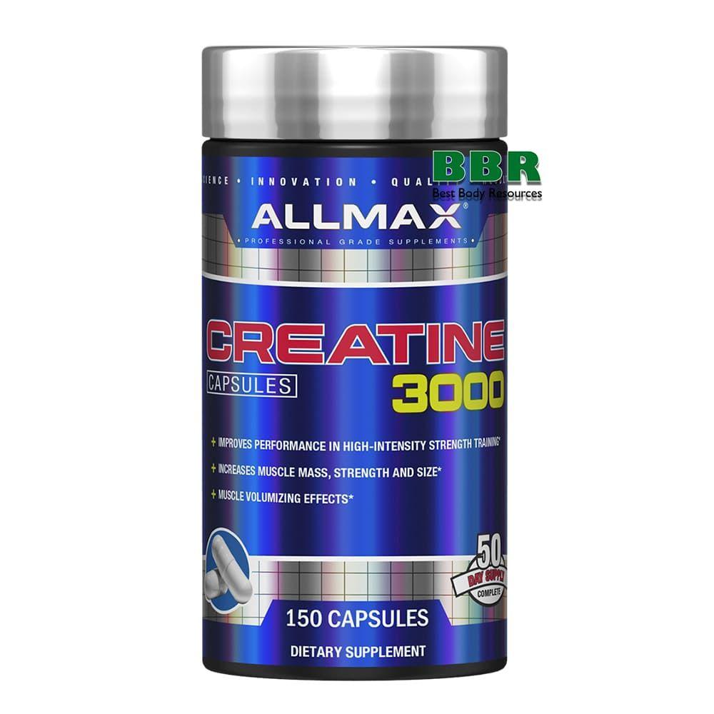 Creatine 3000 150 Caps, ALLMAX Nutrition