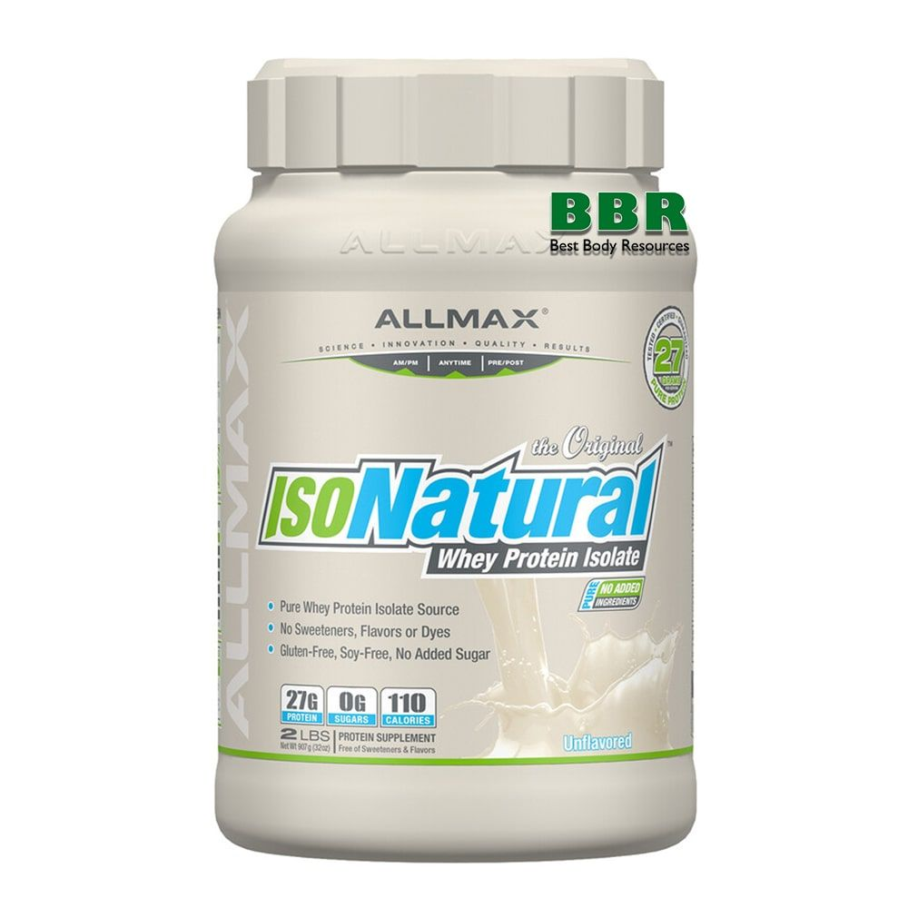 IsoNatural 908g, ALLMAX Nutrition