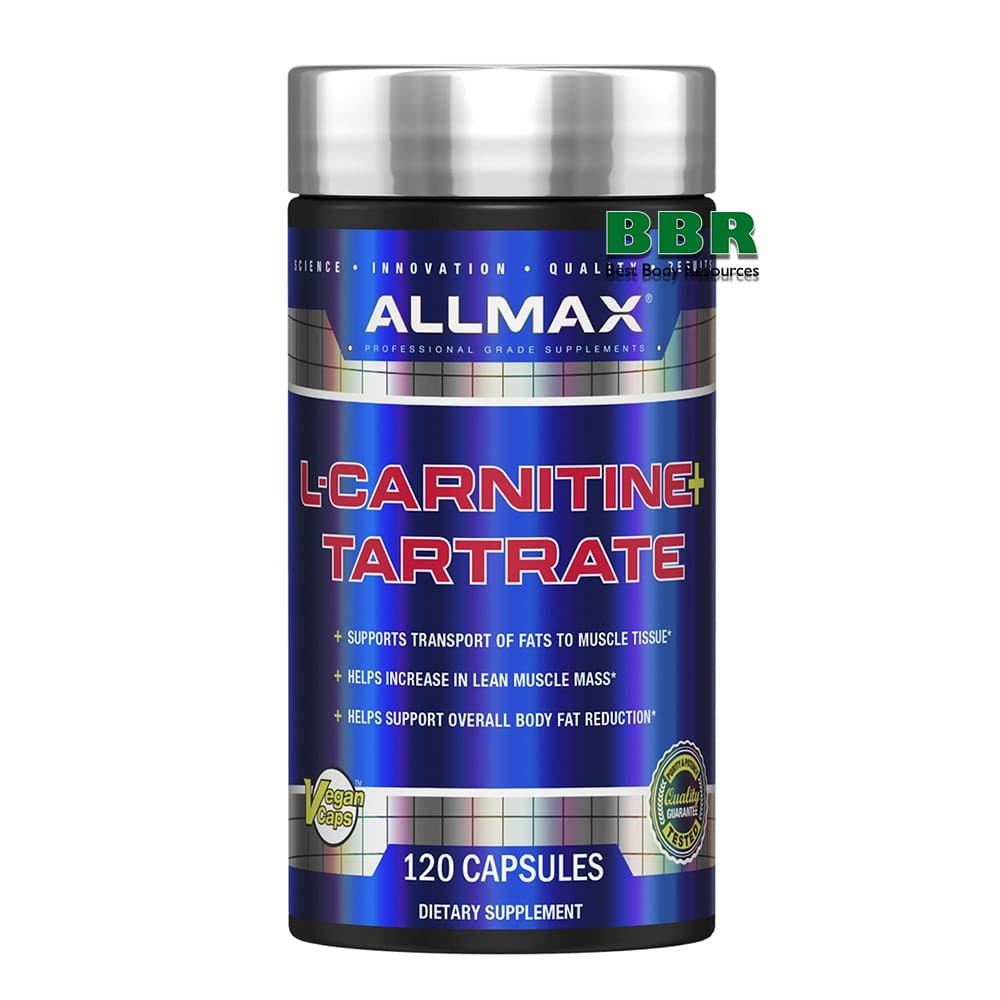 L-Carnitine 120 Caps, ALLMAX Nutrition