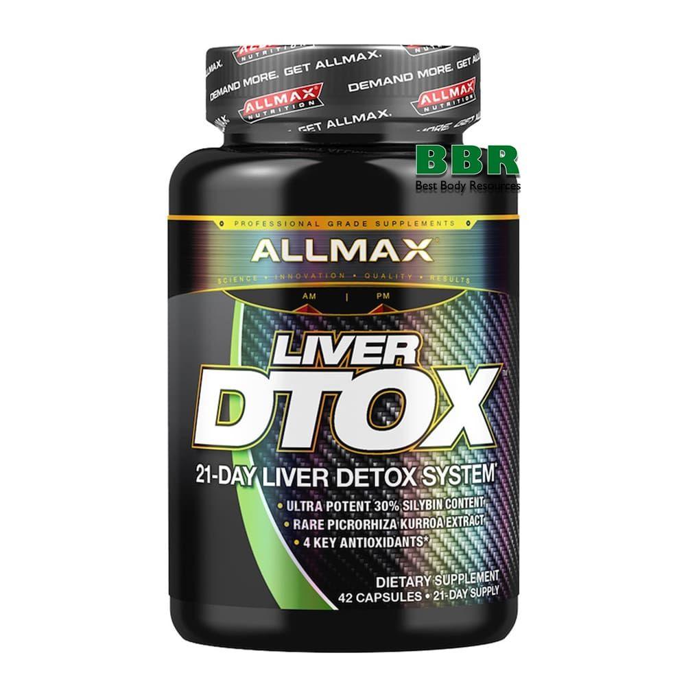 Liver D-Tox 42 Caps, ALLMAX Nutrition