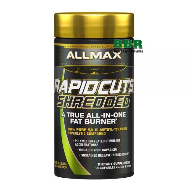 Rapidcuts Shredded 90 Caps, ALLMAX Nutrition