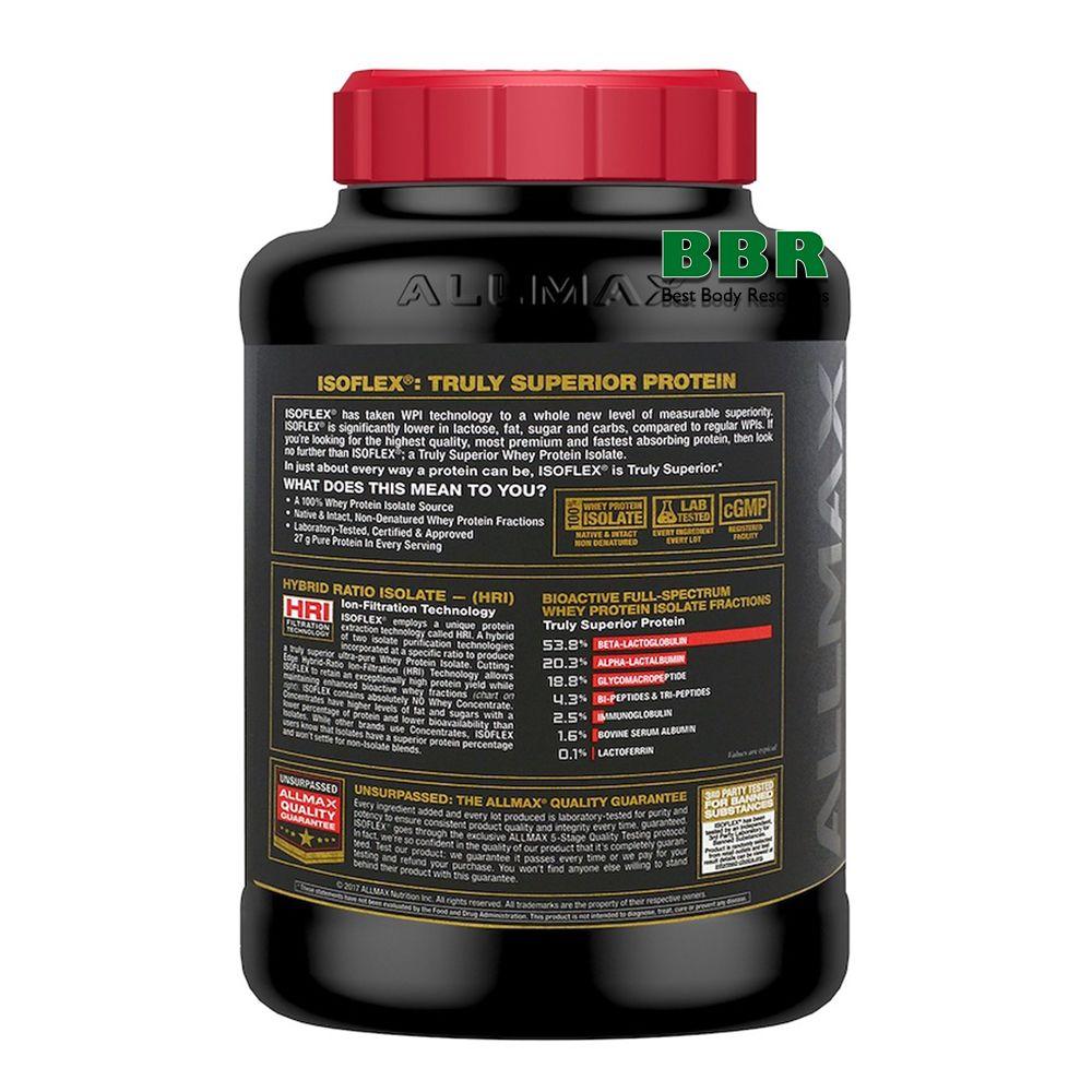 IsoFlex 2270g, ALLMAX Nutrition