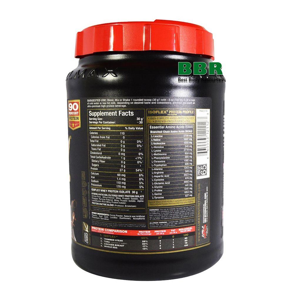 IsoFlex 907g, ALLMAX Nutrition
