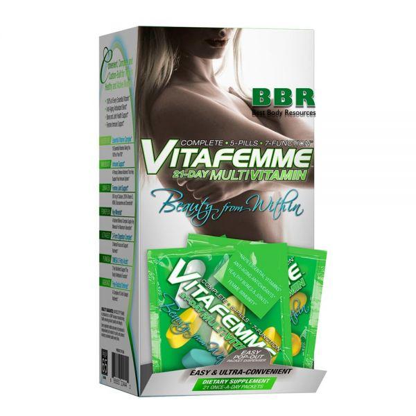 VitaFemme Multi-Pak 21pack, AllMax