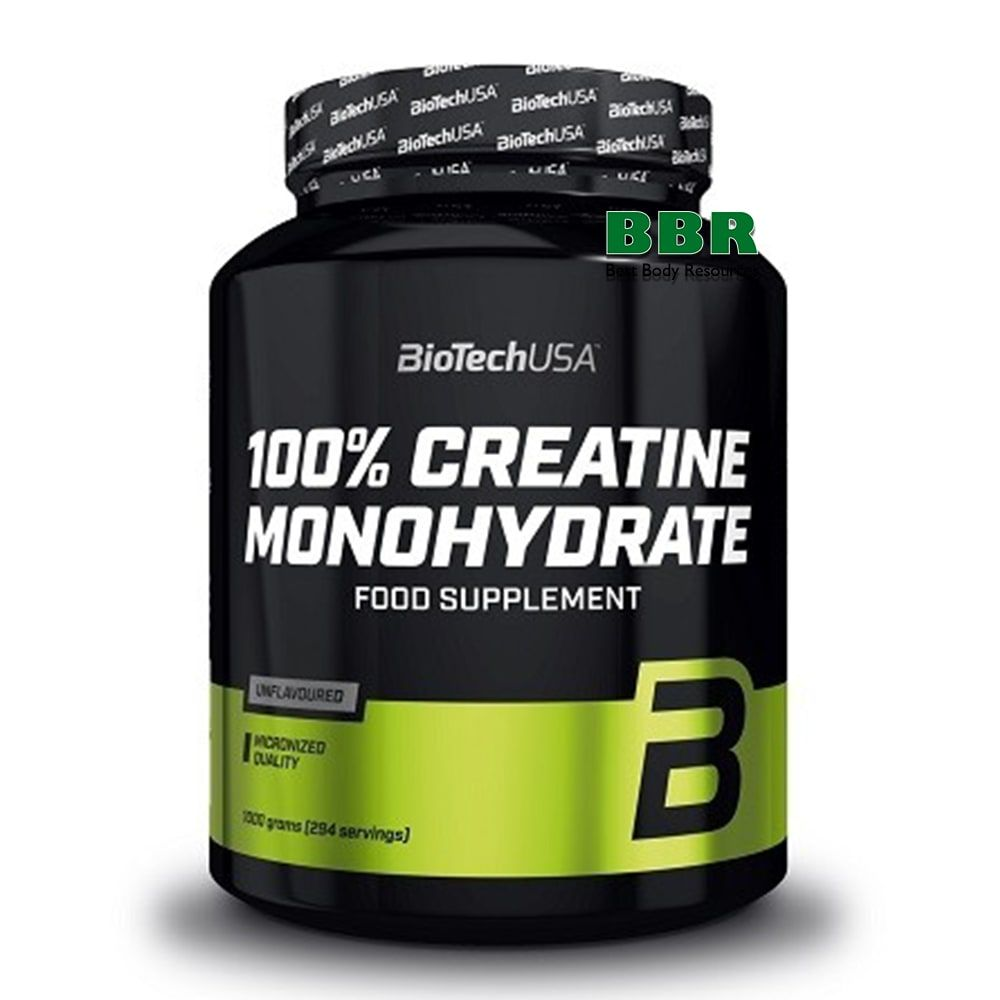 100% Creatine Monohydrate 1000g, BioTech