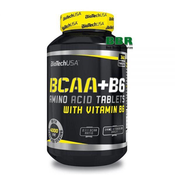 BCAA+B6 340tab, BioTech