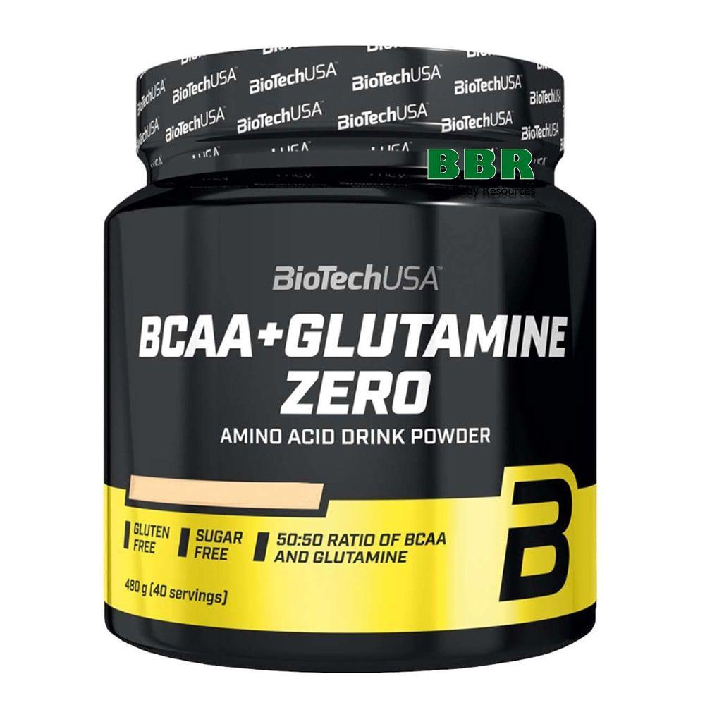 BCAA + Glutamine Zero 480g, BioTechUSA