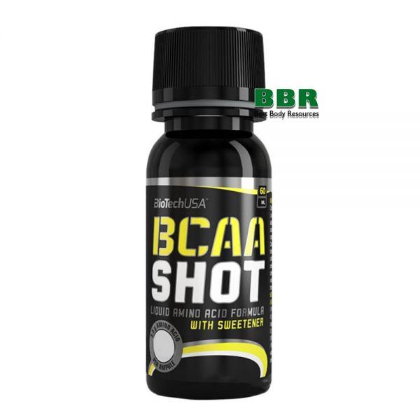 BCAA Liquid Shot 60ml, BioTechUSA
