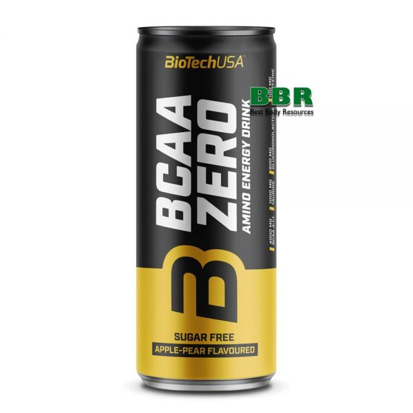BCAA Zero Energy Drink 330ml, BioTech