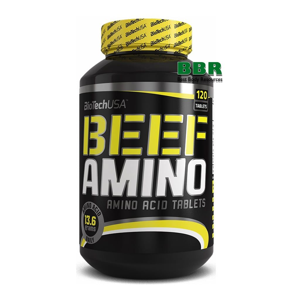 Beef Amino 120tab, BioTech