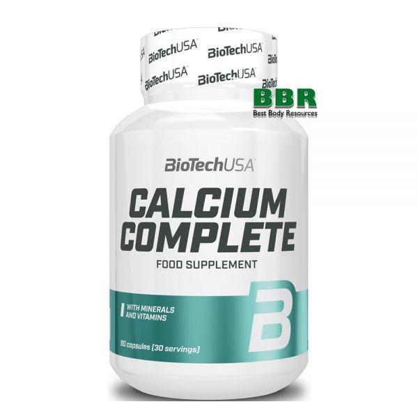 Calcium Complete 90 caps, BioTech