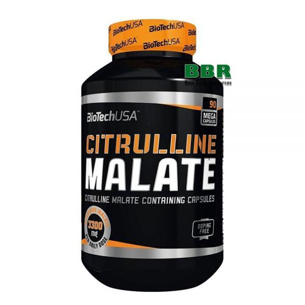 Citrulline Malate 90 caps, BioTech