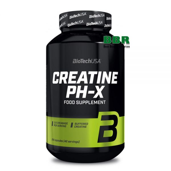 Creatine PH-X 210caps, BioTech