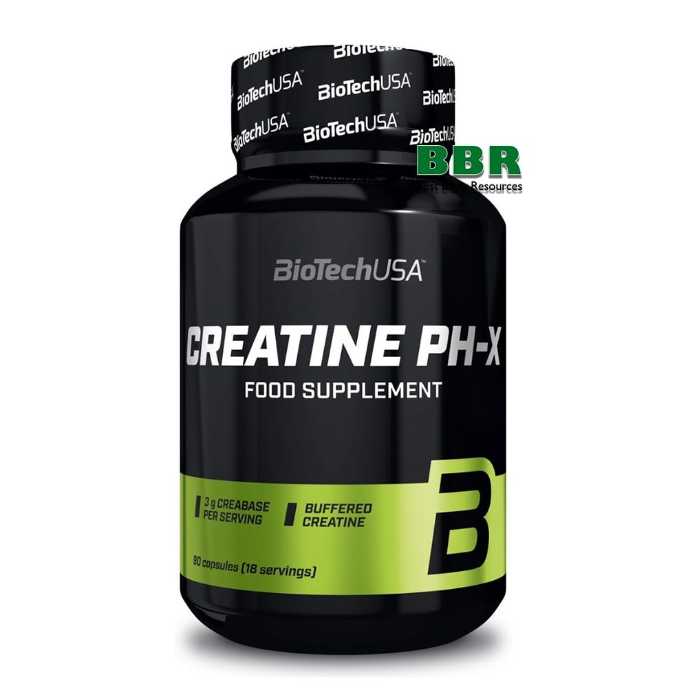 Creatine PH-X 90caps, BioTech
