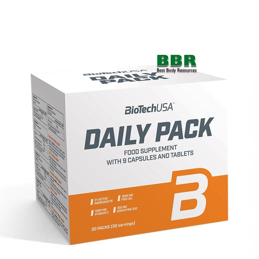 Daily Pack 30 packs, BioTech