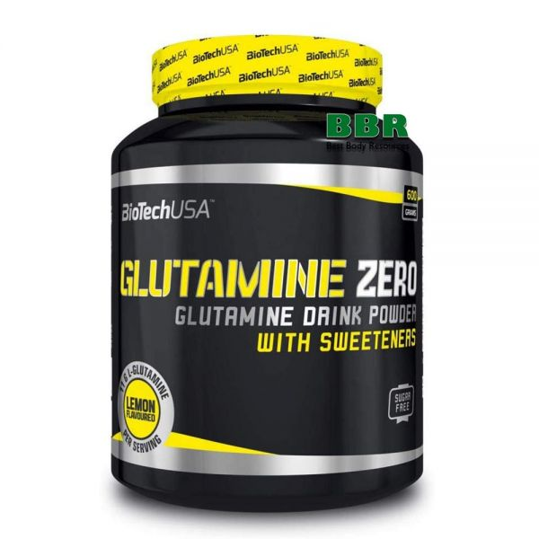 Glutamine Zero 600g, BioTechUSA